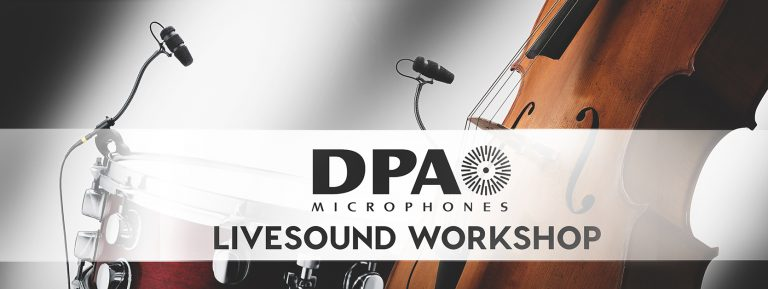 DPA Livesound Workshop 2019
